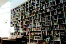 Bookcases / Books are pretty.