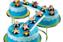Pool party cakes / by Rebekah Barney