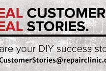 Customer Stories / DIY Repair Success Stories