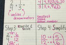 Fifth grade math-- fractions