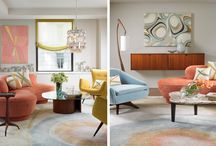Living Room Looks: Modern Color