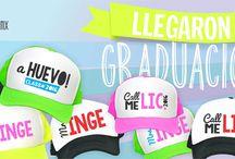 Gorras para graduaciones