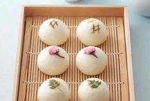 sweet wagashi