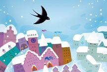 > Violeta Dabija ♣ / Illustrazioni per bambini dell'illustratrice originaria della Repubblica di Moldavia che, con i suoi colori gioiosi e tenui, ci fa innamorare ad ogni disegno.
