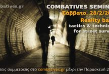 Combatives Seminars / Announcements of Combatives Seminars