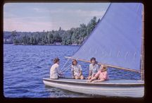 Sail Boats - Tamakwa Collections / The Tamakwa Sailing program is camp favourite for sure! While many things remain the same at Tamakwa year after year, our sail boats have certainly changed! Here is a collection of some of our many sail boats over the years! Enjoy!
