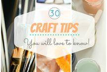 Crafty Tips