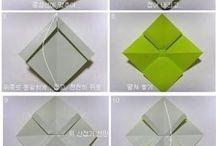 laços de papel