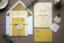 Love Letters and other Wedding Stationary