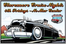 Route 66 Cruisers Claremore Cruise Nights / Route 66 Cruisers Claremore Cruise Nights start!  4th Friday of each month starting in March Weather Permitting at Ne Mar Center 1000 W Will Rogers Blvd in Claremore, OK  5:PM till ??