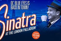 Sinatra - At The London Palladium / Sinatra's songs being performed on stage by a live Orchestra and dancers.
