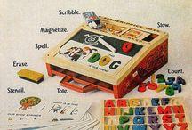Vintage toys / by Stephanie Hack