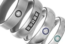 Mens Jewellery / Titanium is strong, light weight and hypoallergenic making it perfect for mens jewellery. www.titanium.com