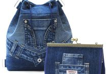 Jeans mini-bag / jeans/denim bag/minibag