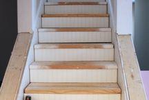 Basement ideas / Stair ideas