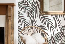 Papel pared tropical