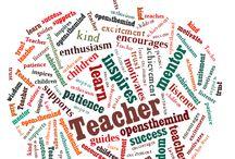 Teacher gifts -- card