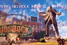 Bioshock Infinite / Doing a gameplay of the beautiful game Bioshock Infinite.
