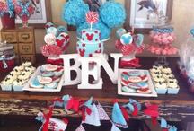 Ben turns 1! / Ben's 1st birthday celebration http://melindasmemoirsmumbled.blogspot.com/2013/02/a-baker-photographer-and-over-top-mother.html?m=1