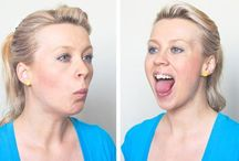Double Chin Removal Exercises / Best and effective facial exercises to get rid of a double chin and chubby cheeks.