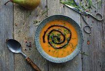 Supper / Lækre og sunde suppe opskrifter
