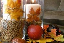 Centrotavola autunno