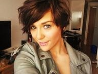 Short Hair obsession / I am obsessed with short hair styles.