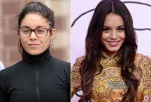 celebrities haven't got make-up !