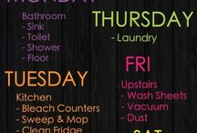 Clean and Declutter / by Kiana-Malia Quidachay
