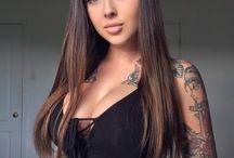 women tatto