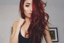red hair etc