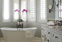 Home Decor:  Bathrooms / Bathroom Inspiration.  Home Decor.