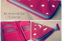 All around zip tutorial