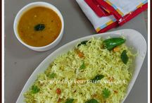 Indian breakfast dishes