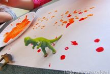 Paint with toddlers / by Kerri S.