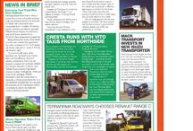 Magazine Articles / Articles about Thompson Commercials Ltd and it's customers