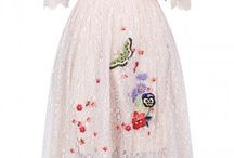 Embroidery Dresses Pure