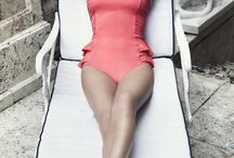 <Stylish Swimsuits> / by Maria Jose Abad / MariaOnPoint