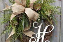 wreaths / by Angela Suing