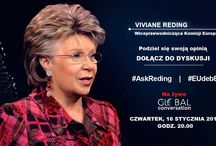 Debata o przyszłości Europy / Już 16 stycznia za pośrednictwem platformy społecznościowej Google+ możecie wciąć udział w interaktywnej debacie o przyszłości Europy. Jej głównym gościem będzie wiceprzewodnicząca Komisji Europejskiej Viviane Reding!