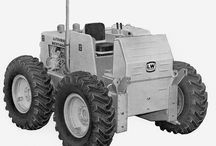 LeTourneau wheel tractor dozers