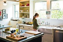 Cool Kitchens / by Claudia Miller