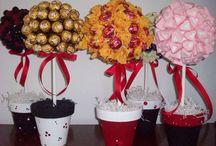 centro mesa dulces
