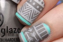 Nails-Tribal