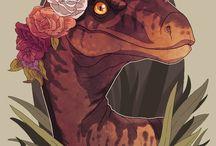 Dinossaurs and stuff