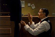 ART: Jack Vettriano / by Greta Hansen-Money