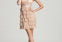 dresses for K+M wedding / lighter hues of pink, purple, blue, green, grey, sparkles, sequins, lace, flowers, girly
