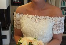 Weddingbouquets by me / Brudebuketter jeg har laget selv