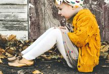 Autumn Kids Apparel / Kids apparel for autumn weather.