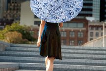 Lily-Lark UV Sun Parasols / Gorgeous UV sun parasols made by Lily-Lark